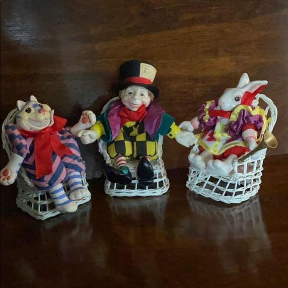 "Rare Fitz & Floyd ""Alice in Wonderland"" Figures"